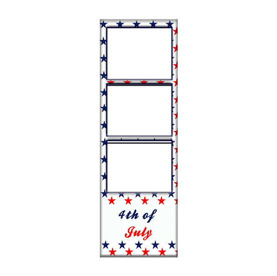 4th of july print template
