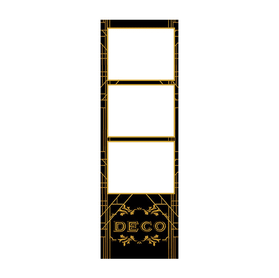 deco photo booth template