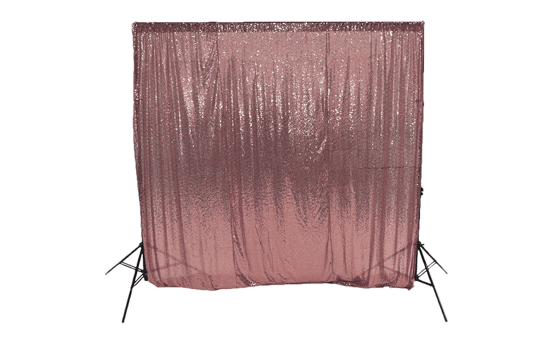 pink sequin backdrop