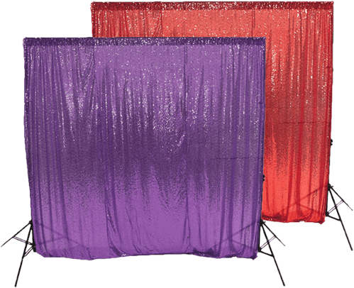 sequin photo booth backdrops