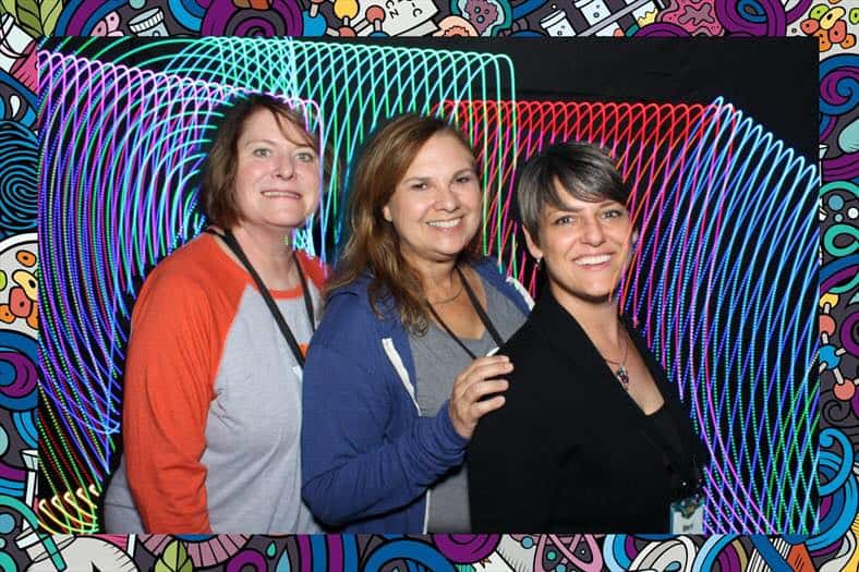Light Paint Photo Booth Rental